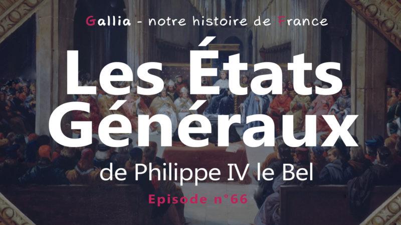 Philippe IV le Bel convoque les États Généraux en 1302