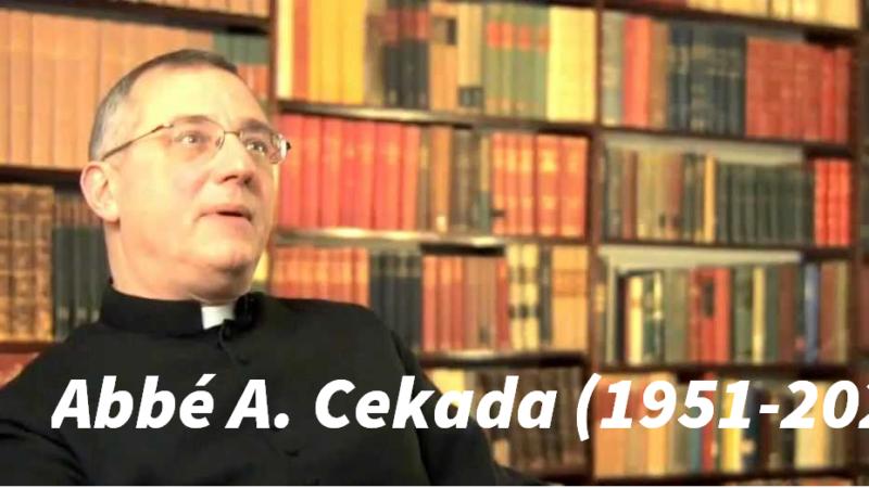 Abbé Cekada – Le rituel conciliaire des ordinations et des sacres est invalide