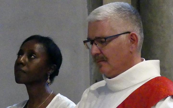 Olivier Lemaître, diacre de l'Église catholique marié à une musulmane