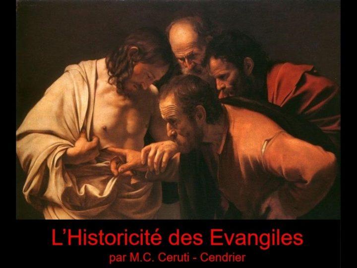 L'historicité des Évangiles – Par Marie Christine Ceruti Cendrier (CEP)