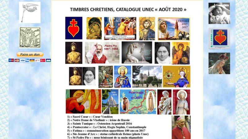 Des timbres pour votre apostolat !
