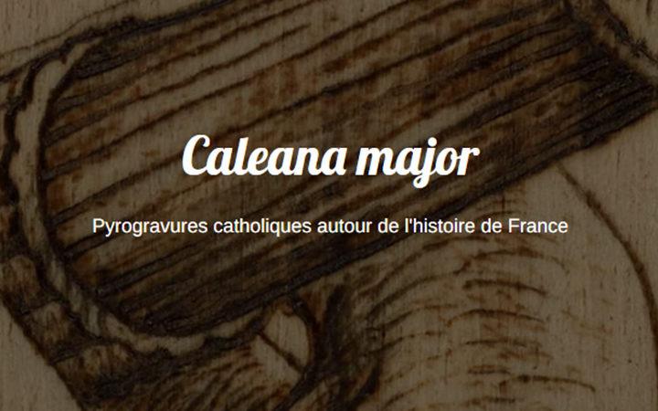 Caleana major : l'art au service de la foi et de la France