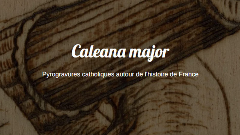Caleana major : l'art au service de la foi & de la France