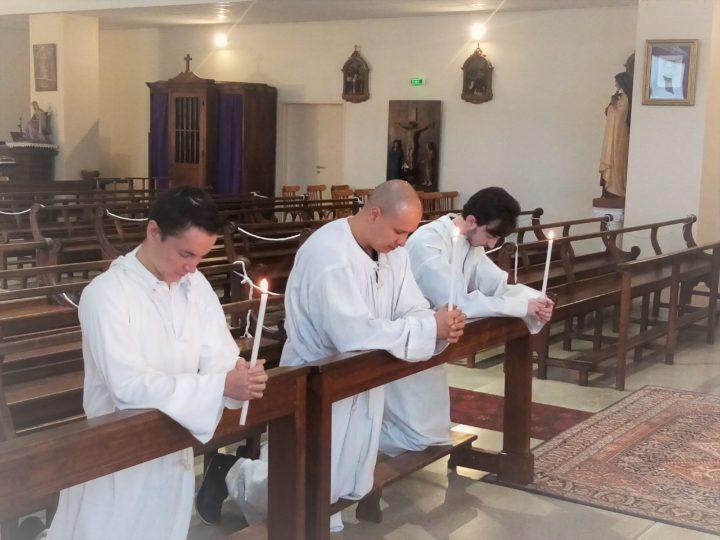 Témoignage de trois nouveaux baptisés