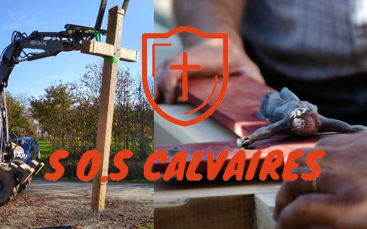 SOS Calvaires : ils œuvrent pour la sauvegarde des calvaires français