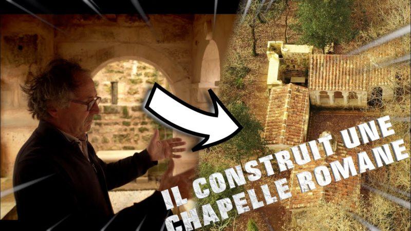 Il construit une chapelle dans les bois !