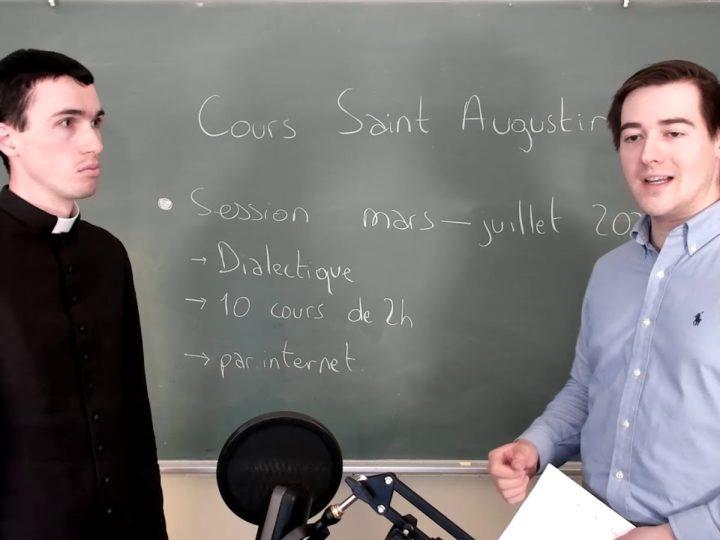 Annonce : Cours Saint Augustin – cours de philosophie thomiste