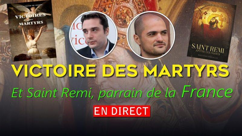 Adrien Abauzit, Jean-Noël Toubon | Victoire des Martyrs – Saint Remi, parrain de la France