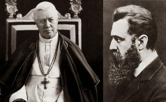 """Saint Pie X contre le sionisme : """"Les juifs n'ont pas reconnu notre Seigneur, c'est pourquoi nous ne pouvons pas reconnaître le peuple juif.»"""