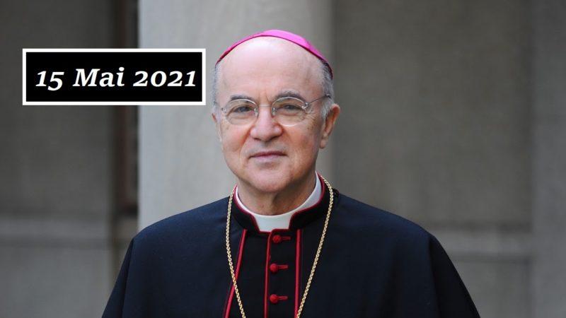 Dernière intervention de l'abbé Vigano – 15/05/2021
