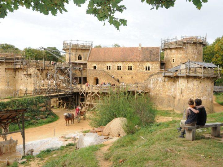 Patrimoine : le château de Guedelon