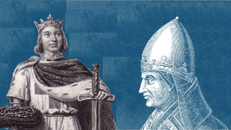 Lettre de Sa Sainteté Grégoire IX à saint Louis
