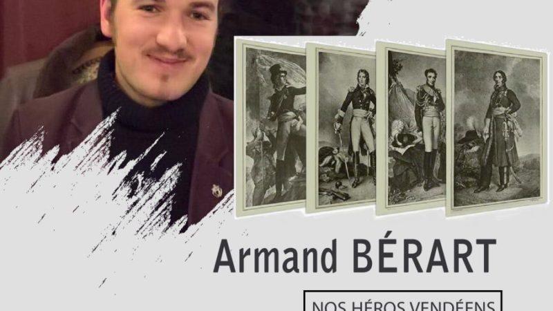 Conférence : Armand Bérart : nos héros vendéens