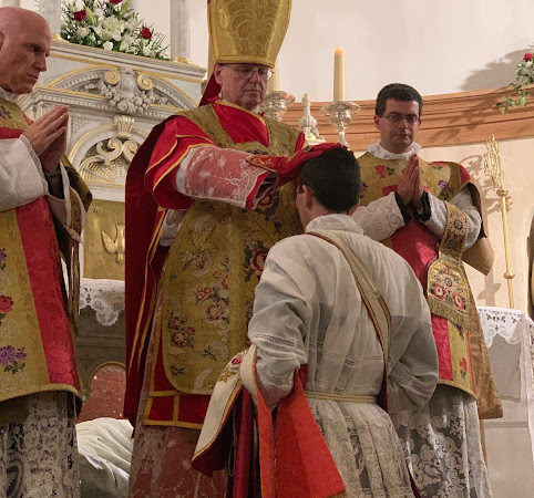 Ordination de M.L'abbé Henri de la Chanonie