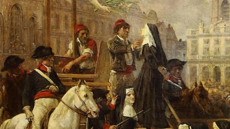 Les bienheureuses Carmélites martyres de Compiègne