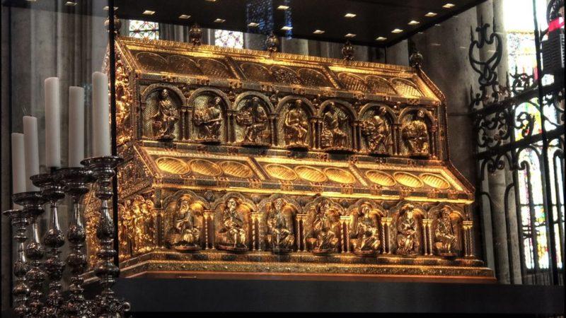 Le reliquaire des Rois Mages à Cologne